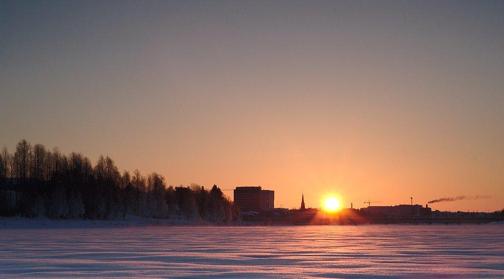 Morning at Umeå